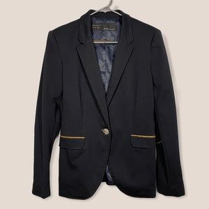 ZARA Basic Navy Blazer